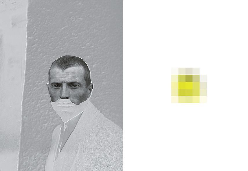 Portraits / Heatmaps(#3), 2017